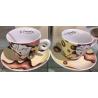 Tazze caffè Egan Campo di Cuori, Confezione 6 tazze