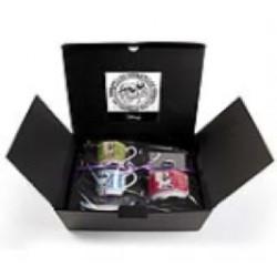 Set 2 tazze caffe' con zuccheriera Egan Disney banda bassotti con scatola regalo