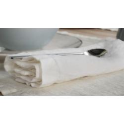 Tovaglioli 6 pezzi La Fabbrica del Lino Bordi e Cornici - greggio