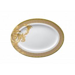 Piatto ovale Les Rèves Byzantins Versace