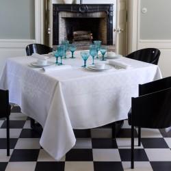 Le Jacquard Francais tovaglia Azulejso blanc 175x250 cm
