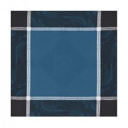 Tovagliolo Le Jacquard Francais Palace Bleu paon 58x58 cm