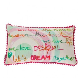 Cuscino arredo Desigual summer party 30x50 cm