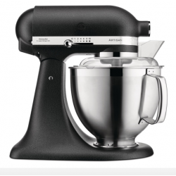 Robot Kitchenaid Artisan 4,8 L ghisa 185 con accessori in acciaio
