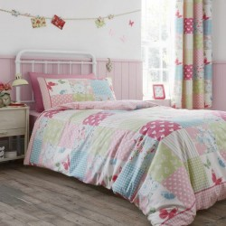Catherine Lansfiled Kids set copripiumino singolo patchwork con federa