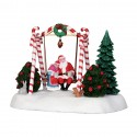 Lemax Santa Swing table accents