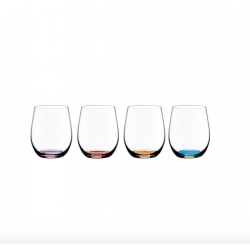Set 4 bicchieri Riedel O wine tumbler happy O