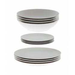 Set di piatti Thomas Medaillon bianco quartetto 12 pezzi
