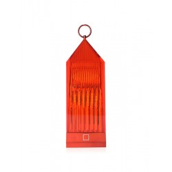 Lampada Lantern Kartell ambra cm 22