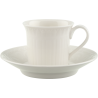Tazza espresso con piattino Villeroy & Boch Cellini in porcellana