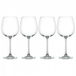 Set 4 calici vino rosso Nachtmann Vivendi in cristallo