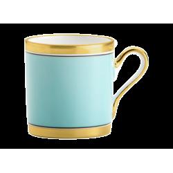 Tazza tè con piatto Richard Ginori Contessa Indaco