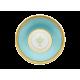 Tazza caffè con piatto Richard Ginori Contessa Indaco