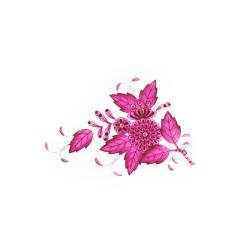 Piatto piano Herend Apponyi rosa 26,3 cm