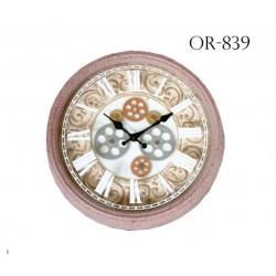 Orologio da parete antico beige