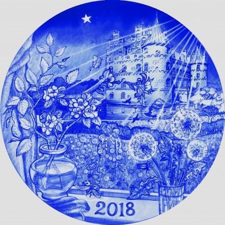 Christmas Plate Desiree 2018