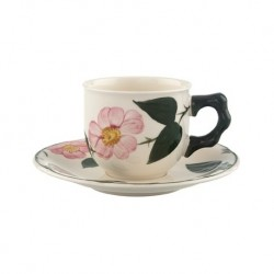 Tea cup and saucer Villeroy & Boch wild rose