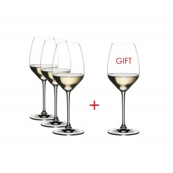 Set 4 Riedel Extreme Riesling crystal goblet
