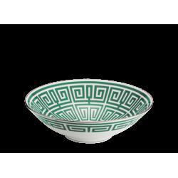 Coppa Gio Ponti Richard Ginori labirinto smeraldo