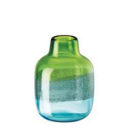 Vaso in vetro Rosenthal Scenery aqua cm 24