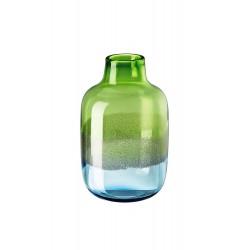 Vaso in vetro Rosenthal Scenery aqua cm 32