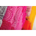 Coppia asciugamani spugna set viso ospite Daltex Cashmere