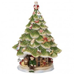 Carillon Christmas tree with children Christmas toys memory Villeroy & Boch 2019