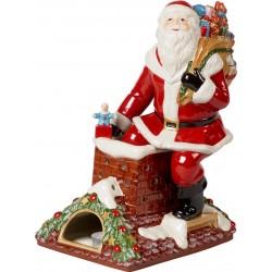 Carillon Santa on rooftop Villeroy & Boch Christmas toys memory 2019