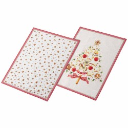 Set 2 kitchen towel giftbox Villeroy & Boch Winter bakery delight 2019