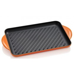 Grill Le Creuset tradition rectangular in enamelled cast iron