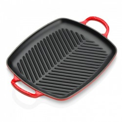 Le Creuset evolution rectangular grill in enamelled cast iron