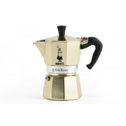 Moka coffee maker express gold collection