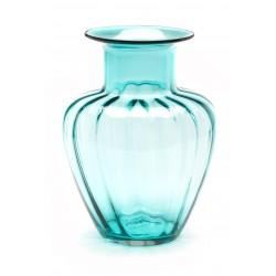 Vaso Comtesse Capri in vetro colorato trasparente cm 35