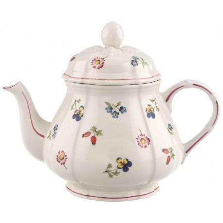 Teiera Villeroy & boch in porcellana Petite Fleur