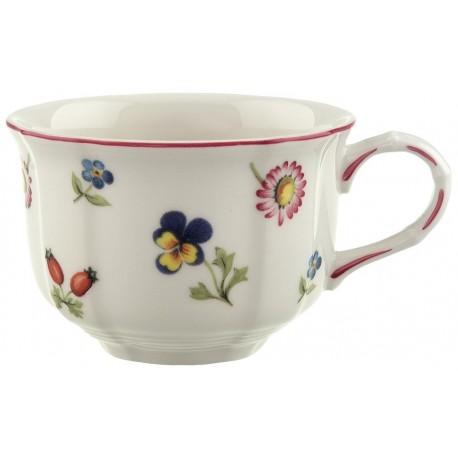 Tazza da te' Villeroy & boch Petite fleur con piatto in porcellana