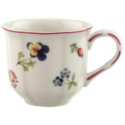 Tazza espresso Villeroy & boch Petite fleur con piattino in porcellana