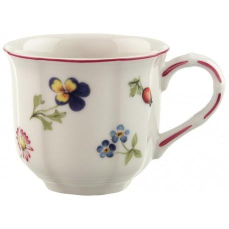 Tazza Villeroy & boch espresso con piattino in porcellana Petit Fleur