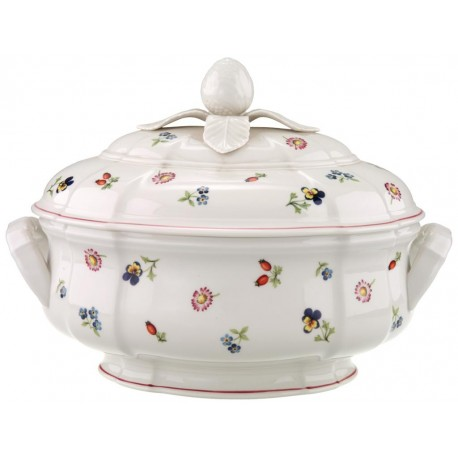 Zuppiera Villeroy & boch ovale in porcellana Petite Fleur