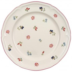 Piatto Villeroy & boch piano in porcellana Petit Fleur