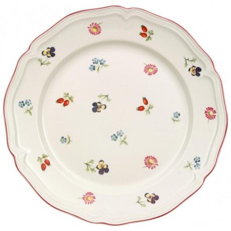 Piatto dessert Villeroy & boch Petite fleur in porcellana cm 21