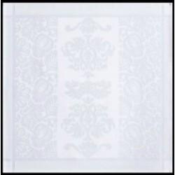 Tovagliolo Le Jacquard Francais Siena Blanc 58 x 58 cm