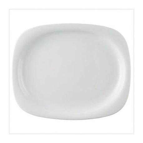 Piatto ovale Suomi bianco Rosenthal studio line