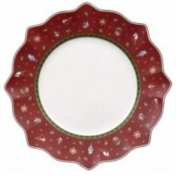 Set 6 piatti piani rosso toy's delight Villeroy & Boch cm 29