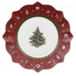 Set 6 piatti dessert rosso toy's delight Villeroy & Boch cm 24
