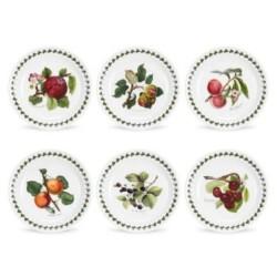 Confezione 6 piatti frutta Portmeirion Pomona cm 22