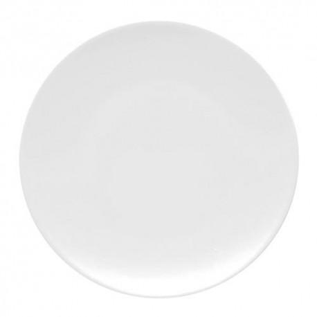 Piatto piano 22 cm Tac bianco Rosenthal Studio line