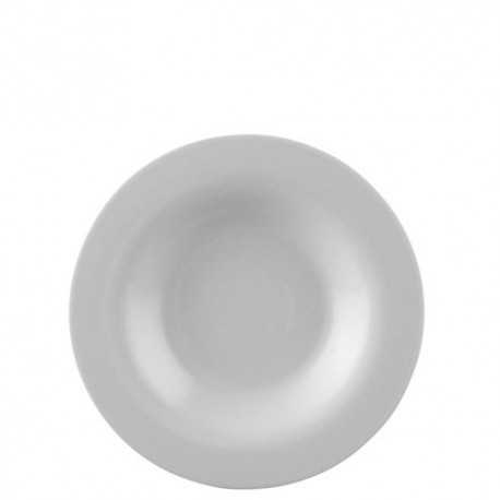 Piatto fondo Rosenthal moon bianco cm 24