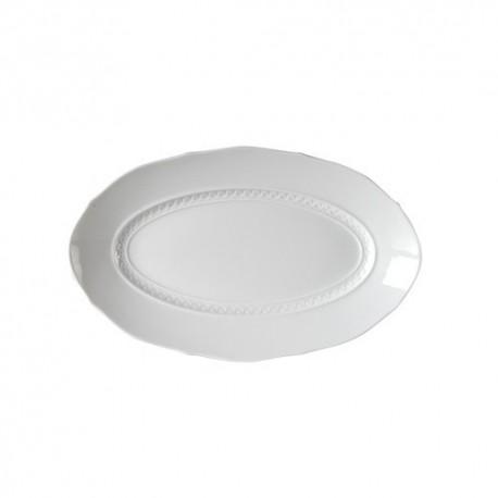 Raviera ovale Richard Ginori Museo bianco cm 28,5