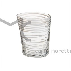 Bicchieri in vetro colorato Carlo Moretti Bora