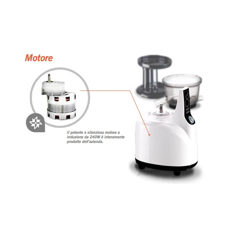 Kuvings Whole Slow Juicer : Estrattore di succo Kuvings Whole Slow Juicer